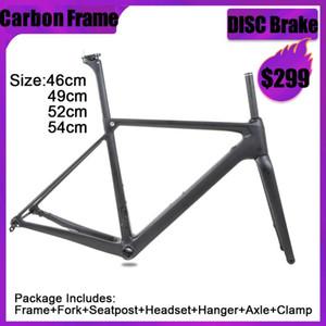 SENSTA T800 700C BB68 Thread Top Qualité NOUVEAU Carbon Road Cadre Vélo Vélo de vélo de vélo 56/58/60 / 62mm Grande taille grande taille