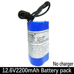 Liieruy alta qualidade portátil 12V 2200mAH 18.650 baterias de lítio recarregável 2200mAh Pack para CCTV Camera MID GPS