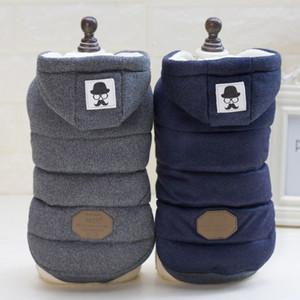 Coat High Quality Pet одежды собаки зимы собаки и куртки хлопка пальто Собаки Одежда сгущает костюм Одежда S-XXL T191104
