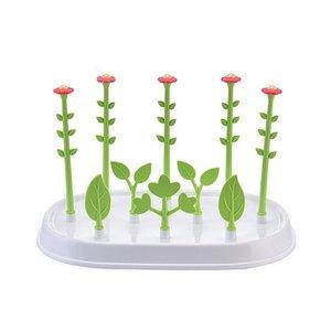 Babyflasche Wschetrockner Blumen-Baum-Flaschen mit Deckel Abnehmbare Futterflaschenhalter Trocknen Pacifier Shelf