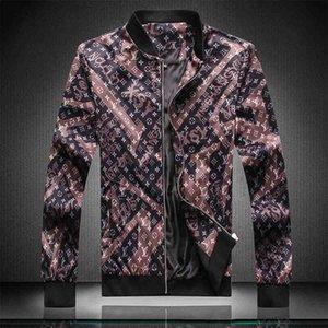 carta cazadora chaqueta de diseñador de todos los nuevos belgas nuevos hombres de color negro impresa la medusa amantes de la chaqueta de la chaqueta M-3XL