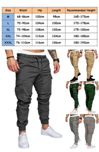 Cargo Pants Men 2019 Autumn Casual Multi Pockets Military Tactical Pants Men's Army Pants Field sports Long Trousers sweatpants