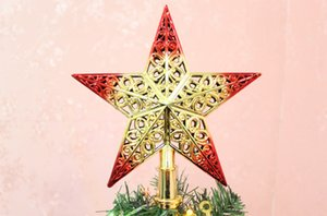 Christmas Tree Topstar For Table Top Christmas Ornament 1PCS Star Lovely Shiny Xmas Decorative for Xmas Party A30822
