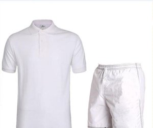 2020 Fashion Sportsuit and Tee Shirt Set Mens T Shirt Shorts + Short Pants Men Summer Tracksuit Men Casual Tee Shirts