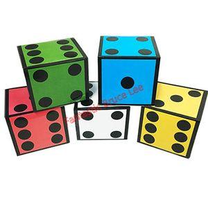 Novo Cartão Dice (5 Dice) Truque --Magic, Fun mágica, mágica do partido.