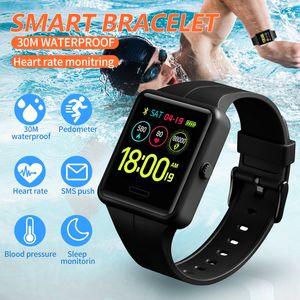 SKMEI Smart Sport Assista Men Moda Watch Digital Multifunction BlueTooth Health Monitor Relógios impermeáveis Relógio digital de 1526 CJ191217