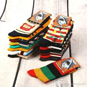 10 pairs lot Mens Women Designer Socks Colorful High Quality 100% Cotton Athletic Happy Soccer Socks Cartoon Funny Crew Christmas socks