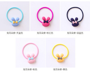 Imprimer Floral cheveux Elastique Elastique Band cheveux couleurs assorties enfants filles bébé Spesse imprimé floral Bobine sweet07 de rncwm