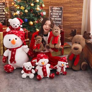 Nueva Yeay juguetes de peluche de felpa muñeca navidad navidad muñeca de juguete para los niños de Santa Claus regalo para los niños