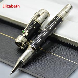 luxo caneta Promoção Edição limitada Elizabeth caneta roller ball escritório de negócios de papelaria bola clássico canetas presente