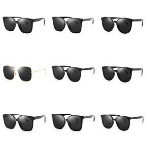 High Quality New Ins Fashion Luxury Vintage Sparkling Diamond Polarizing Women Designer Sunglasses Uv Proof 3D Stand#663