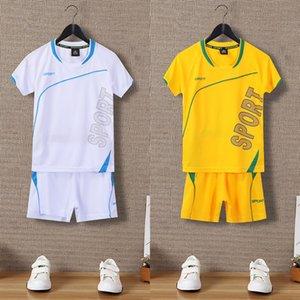 Children's Sports suit Summer Sports 2020 men's letter T-shirt children's t-shirt and shorts shorts two-piece suit
