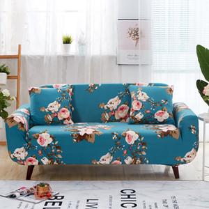 Чехол на диван с цветочным принтом Night Forest Couch Cover Trap с противоскользящим покрытием для гостиной L-образное кресло