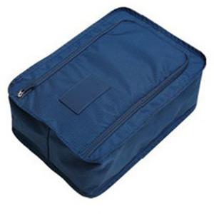 متعدد الألوان ماء النايلون المحمولة السفر تخزين الحذاء الحقيبة حقيبة مع الرمز البريدي