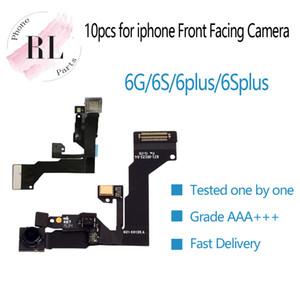 10pcs / lot (prueba uno por uno) para iPhone 6G 6 más 6S 6s más Sensor de proximidad de luz Flex Cable Ribbon + cámara frontal
