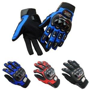 Wholesale-Full Finger sport Gloves Racing Motorcycle Motorbike Motocross Cycling Bike