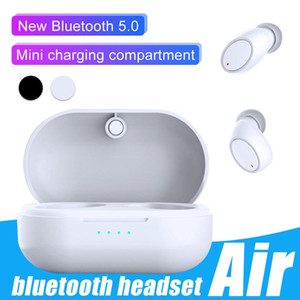 Mini Hifi Wireless Air 3 TWS Earphones For Mobile Bluetooth 5.0 Devices Portable Heavy Bass Stereo Headphones with Indictor Charging Box