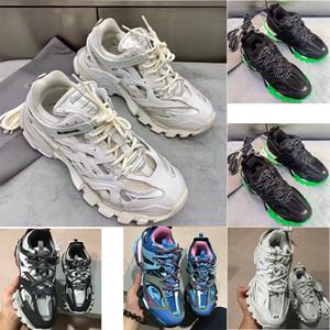 2019 New Specials Track Paris Triple S 3.0TRACK.2 TRAINERS Gris Orange Chaussures Décontractées Chaussures Décontractées Plates Chaussures Décontractées Tess S. Gomma Trek pour Homme et Femme S