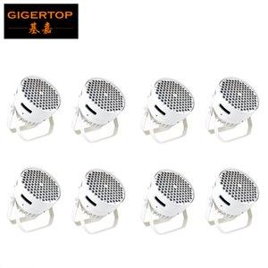 TIPTOP LED 평면 워시 파 120x3W RGBW 4 색 조명 DMX512 무대 효과 빛 DJ 디스코 바 클럽 파티 직업 등