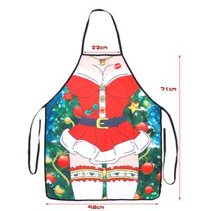 Adult Christmas Sexy Cosplay Costumes Santa Claus Plush Toys Bachelor Party Erotic Funny Dress Apron Valentine's Day Gifts