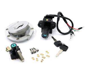 NSR125 93-04 Motocicleta 4 cables Interruptor de encendido Tapa del tanque de gas combustible Cerradura del asiento Juego de llaves para Honda NSR 125 1993-2004 1994 1995 1996