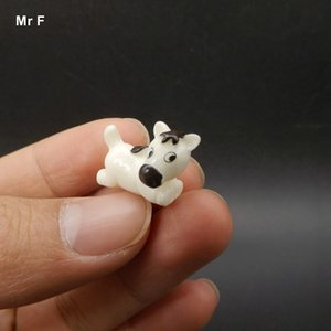 Mini Animal Kid Gift Sitting Horse Model Toy Miniature Dollhouse Diy Decor Game Resin Craft Simulation