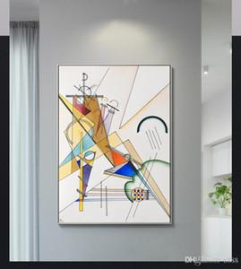 Ünlü Özet yağı Handpainted HD yazdır Geometrik Desenler boyama Wall Art Ev Dekorasyonu Açık Tuval Çoklu Boyutları 200311 G140