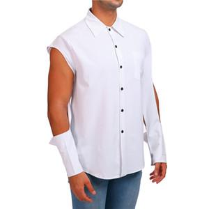 Brand Men Shirt Long Sleeve Chemise Homme 2019 Fashion Business Design Mens Slim Fit Dress Shirts Casual Camisa Social Blouse