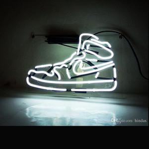 Akrilik ransparent Tabanlı Plaka Neon Işık Özel Neon Spor Sneaker Ayakkabı Satılık neon İşaretleri LED