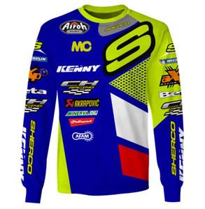 Estate nuova kenny discesa Sherco ciclismo uomo vestito di mountain bike off-road moto custom T-shirt