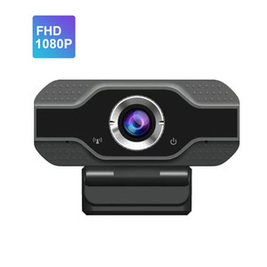 1080p Full HD Built-in Noise Reduction Microfone Fluxo Webcam para videoconferência on-line Classe de Trabalho Home Office YouTube