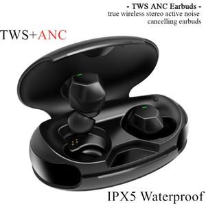 صحيح ANC TWS نشط الضوضاء الغاء سماعات بلوتوث اللاسلكية سماعات الأذن 1536u بلوتوث 5.0 في الأذن IPX5 ماء TWS ANC