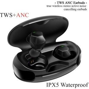 ANG ANC ANC TWS True Noise Wireless IPX5 سماعة TWS إلغاء 1536U بلوتوث بلوتوث بلوتوث في الأذن 5.0 ماء سماعات ANC Mujsj