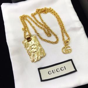 Nuevos productos de latón Collar de Oro para unisex de aleación de la tapa del collar de lujo de la joyería de diseño de moda collar de suministro