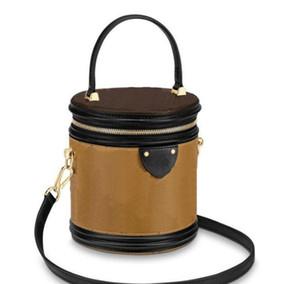 2019 дизайнер роскошь плече сумка реальная кожа старый цветок Bucket высокого качества Crossbody мешка Каннском сумочка свободный корабль