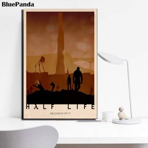 Half Life Modern Canvas Painting Oil Print Wall Art Picture para la sala de estar Dormitorio Decoración para el hogar