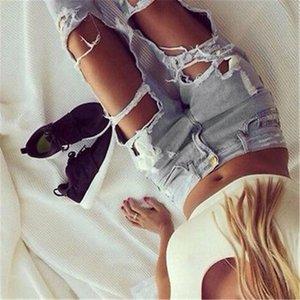 Femmes Jeans Ripped Hot New élégant Sexy Ladies Casual Skinny Denim Faded cool Slim Fit Pantalons Jeans Boyfriend trou Feminina