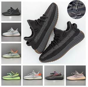 Nueva original Desert Sage Tierra Cinder Luz trasera Kanye West Yecheil lino Chaussures reflectantes Zapatos Marsh lino Hombres Mujeres zapatillas de deporte de diseño