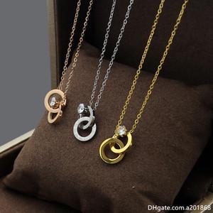 Corea versión de seis garra solo diamante digital romano doble collar de las mujeres anillo