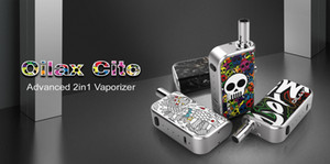 Original Cito Pro 2 In 1 Vaporizer Kit With 2 Cartridges 2 Magnetic Adapters Easy Switch From Concentrate Oil Vaping To Wax Vape Pen