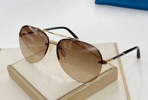 1050 Luxury Sunglasses For Women Fashion Cat Eye Simple Designer UV 400 Lens Coating Mirror Lens Color Plated Frame Come With Package