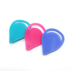 Silicone esfoliante comedone spazzola nasale comedone di pulizia lavaggio di massaggio a secco Pulire miglior strumento di pulizia del colore casuale SZ111