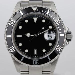 Lüks Watch116610 erkek Izle Otomatik Mekanik İzle 2813 Çekirdek, Paslanmaz Çelik erkek Su Geçirmez 30 M 316L Rafine Çelik Watch Band