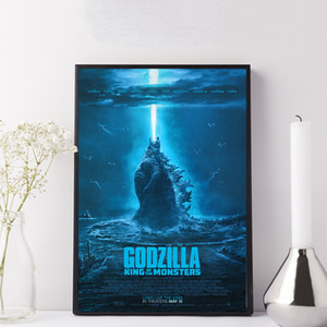 Godzilla 2 King of the Monsters Movie Poster Thomas Kinkade Comics Paintings on Canvas Modern Art Decorative Wall Pictures Home Decoration