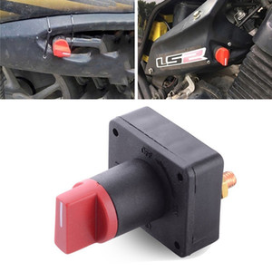 DC12V мотоцикла Выключатель батареи Master Disconnect Rotary Изолятор Cut Off Kill Switch для батареи автомобиля Трехколесный велосипед Motorc