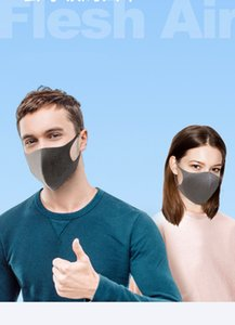 In Stock! Adult and kid Reusable Ice Silk Cotton Face Mouth Cover PM2.5 Mask Dustproof Anti-bacterial Washable Masks