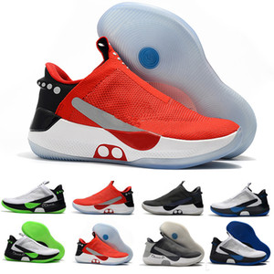 2019 New Adapt BB Noir Blanc Pure Platinum Air Mag Chaussures de basketball mags Hommes Retour vers le futur Baskets de Sport Baskets Chaussures 40-46