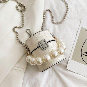 Box francês Design de Moda Padrão Pedra Simples elegante bolsa Bolsa de Ombro Bucket Handbag Largura 7 centímetros Altura 9 centímetros de espessura sete centímetros