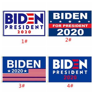 Drapeau Président Biden 2020 Bannière Polyester Drapeau confédéré tête en métal Grommet personnalité décor 90 * 150cm Drapeaux Blanc Bleu Bannières BC BH3826
