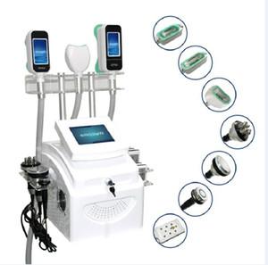 2020 poderoso peso de congelación de 360 grados crioterapia Reducir doble eliminación de la barbilla que adelgaza RF cavitación 40K el mejor efecto de la belleza de la máquina